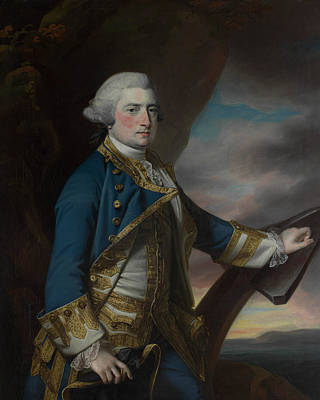 Painting - Admiral Harry Paulet, Sixth Duke Of Bolton by Francis Cotes