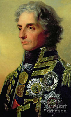 Royal Navy Painting - Admiral Horatio Nelson by Friedrich Heinrich Fuger