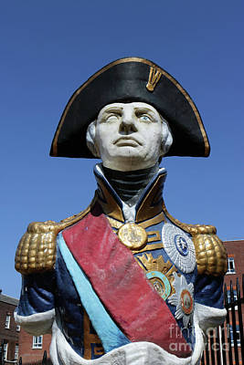 Lord Admiral Nelson Photograph - Admiral Lord Nelson Portsmouth by Julia Gavin