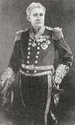 Admiral Sir John Charles Dalrymple-hay Art Print by Vintage Design Pics