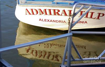 Photograph - Admiral Tilp River Boat by John S