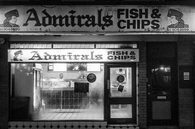 Admirals Fish And Chips Art Print