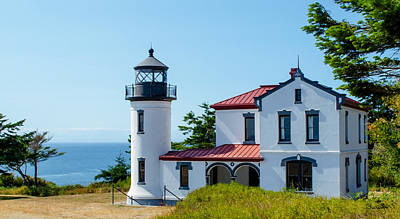Photograph - Admiralty Head Light by Shanna Hyatt