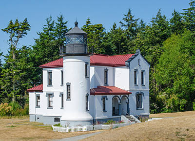 Photograph - Admiralty Head Lighthouse  by Shanna Hyatt