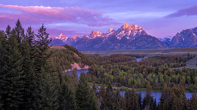 Teton Mountains Photograph - Admiration by Chad Dutson