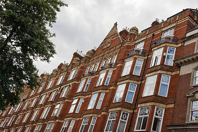 Photograph - Admiring London Victorian Architecture - Crawford Street Marylebone by Georgia Mizuleva