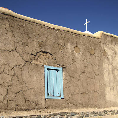 Photograph - Adobe Church Taos by Ann Powell