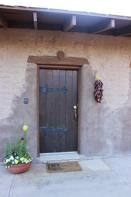 Photograph - Adobe Door by Dody Rogers
