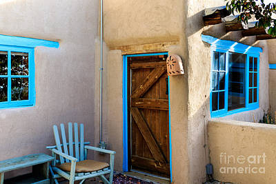 Photograph - Adobe House by Richard Smith