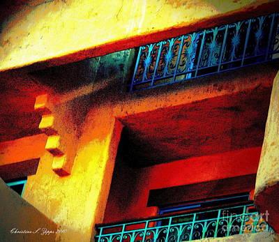 Photograph - Adobe Inn by Christine S Zipps