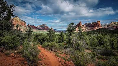 Photograph - Adobe Jack Trail by Terry Ann Morris