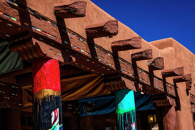 Adobe Pillars And Beams Art Print