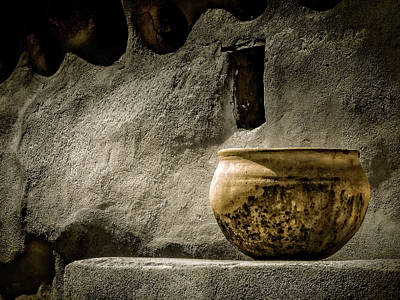 Photograph - Adobe Pot by Sandra Selle Rodriguez