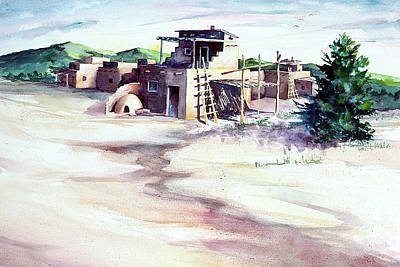 Painting - Adobe Pueblo by Connie Williams