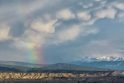 Photograph - Adobe Rainbow by Denise Bush