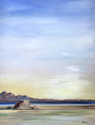 Painting - Adobe Rock by Nila Jane Autry