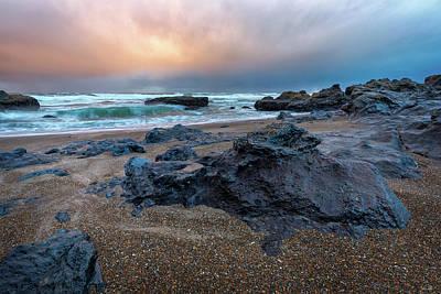 Photograph - Adobe Sunset by C Steele