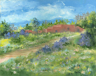 Painting - Adobe Trail by Jerry Kelley