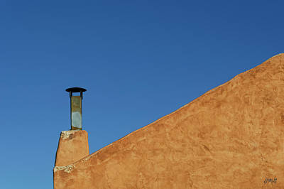 Photograph - Adobe Wall And Chimney by David Gordon