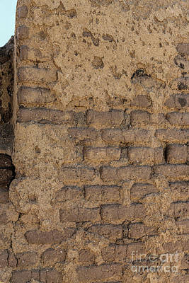 Photograph - Adobe Wall by Jon Burch Photography