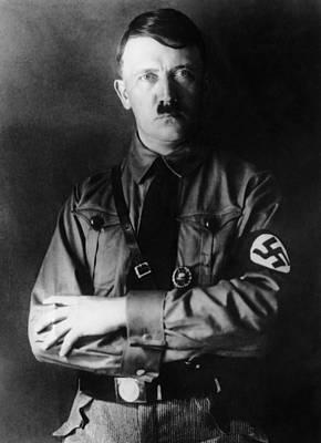 Hitler Photograph - Adolf Hitler, 1933 by Everett