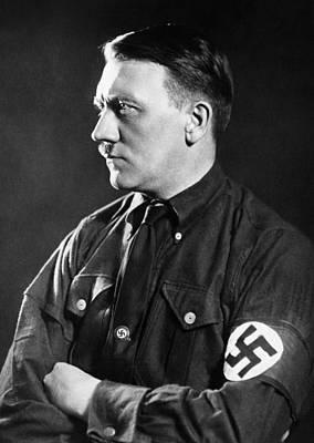 Hitler Photograph - Adolf Hitler, 1934 by Everett