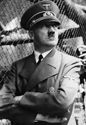 Adolf Photograph - Adolf Hitler, Ca. Late 1930s by Everett