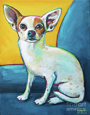 Painting - Adorable Chihuahua by Robert Phelps