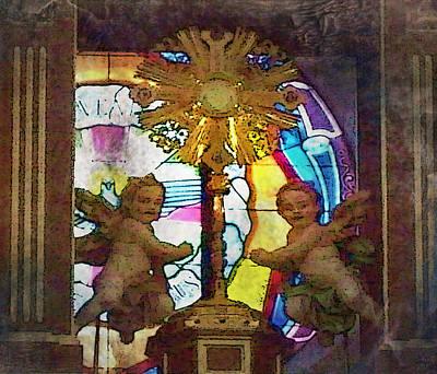 Adoration Chapel 4 Art Print