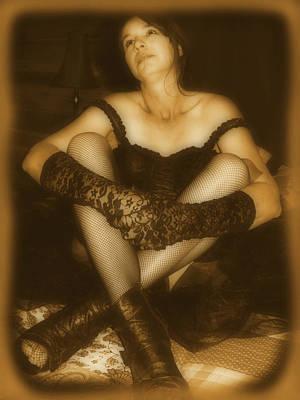 Bordello Photograph - Adoration by Cindy Nunn