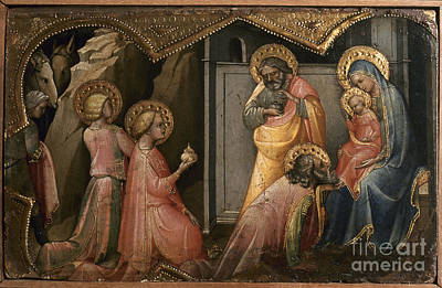 Photograph - Adoration Of The Kings by Granger