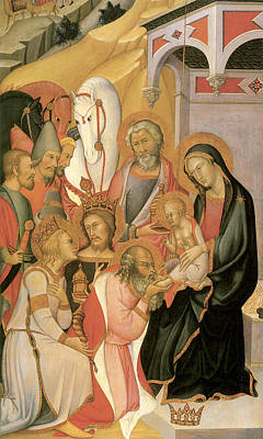 Adoration Of The Magi Di Fred Art Print