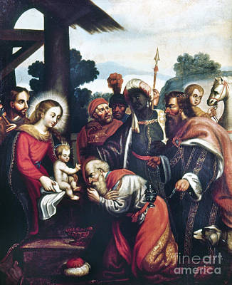 Photograph - Adoration Of The Magi by Granger