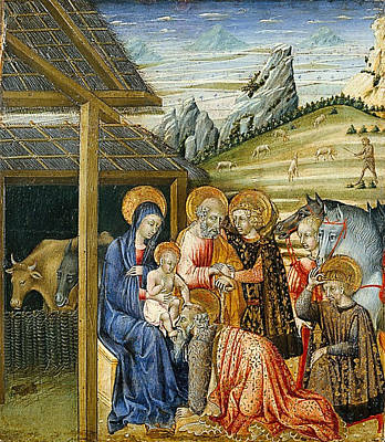 Adoration Of The Magi Art Print