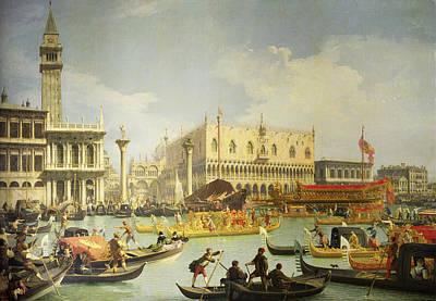 Adriatic Sea Painting - Adriatic Sea by Canaletto