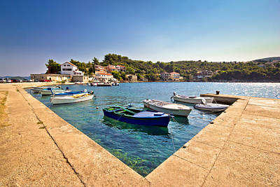 Photograph - Adriatic Village Of Savar On Dugi Otok  by Brch Photography