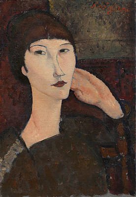Painting - Adrienne by Amedeo Modigliani