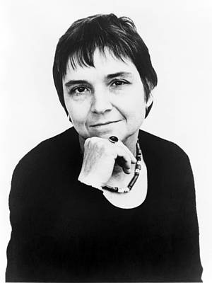 2008-2 Photograph - Adrienne Rich B. 1929 Prolific American by Everett