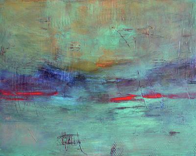 Adrift Art Print by Filomena Booth