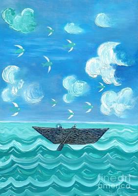 Adrift Original by Jose Luis Montes