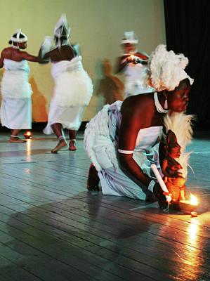 Photograph - Homage To Yemoja by Muyiwa OSIFUYE