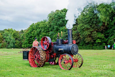 Photograph - Advance Steam Engine by David Arment