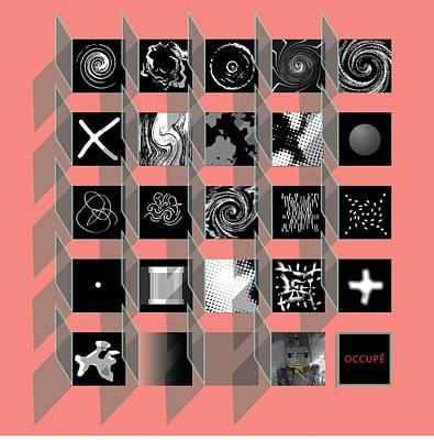 Digital Art - Advent Calendar by Stan  Magnan