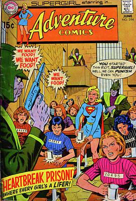Adventue Comic Cover Art Print