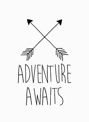 Digital Art - Adventure Awaits by Taylan Apukovska