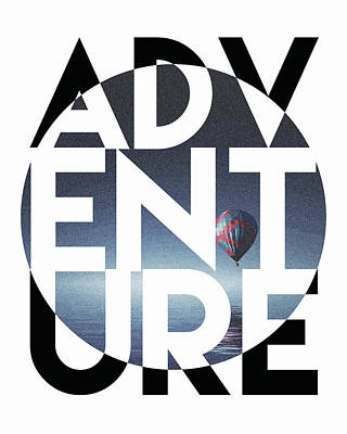 Black Top Mixed Media - Adventure  by Studio Grafiikka
