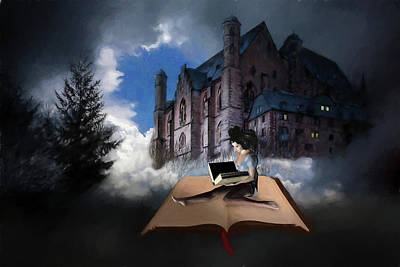 Digital Art - Adventures In Books by John Haldane