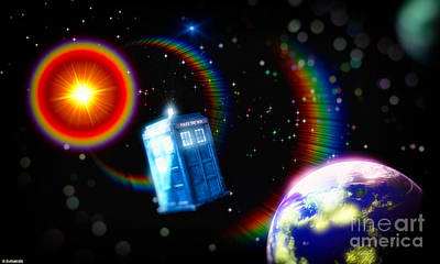 Adventures In Time Space And Imagination Print by Robert Radmore