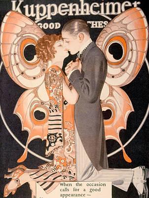 Advertisement For Kuppenheimer Art Print
