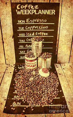 Advert Photograph - Adverts From The Old Coffee Mill by Jorgo Photography - Wall Art Gallery